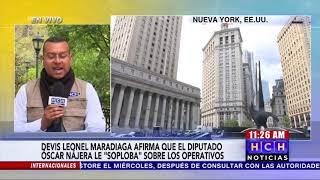 "El ""Cachiro"" Devis Maradiaga revela detalles sobre video grabado durante reunión con #TonyHernández"
