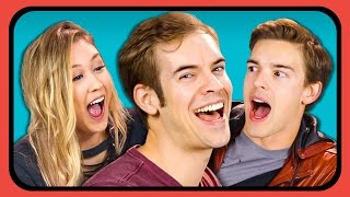 YouTubers React to Song Lyric Text Prank Compilation
