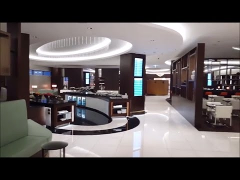 Etihad Abu Dhabi Lounge & luxury Spa! 😍