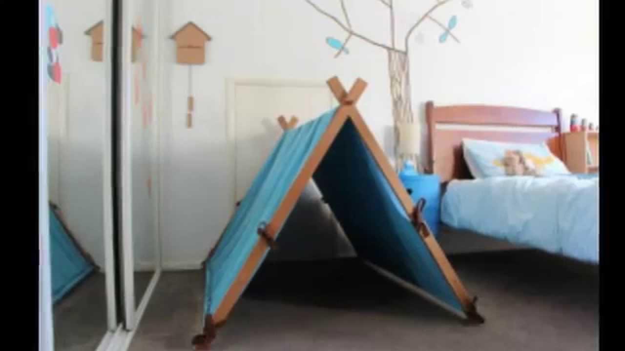 Домик палатка своими руками