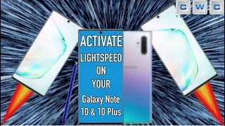 How to Get Maximum Speed on Samsung Galaxy Note 10 or Note 10 Plus