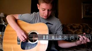 """Cowboys and Angels"" by Dustin Lynch - Cover by Timothy Baker"