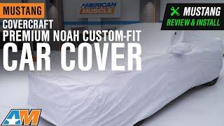 2015-2019 Mustang Covercraft Premium Noah Custom-Fit Car Cover Review & Install