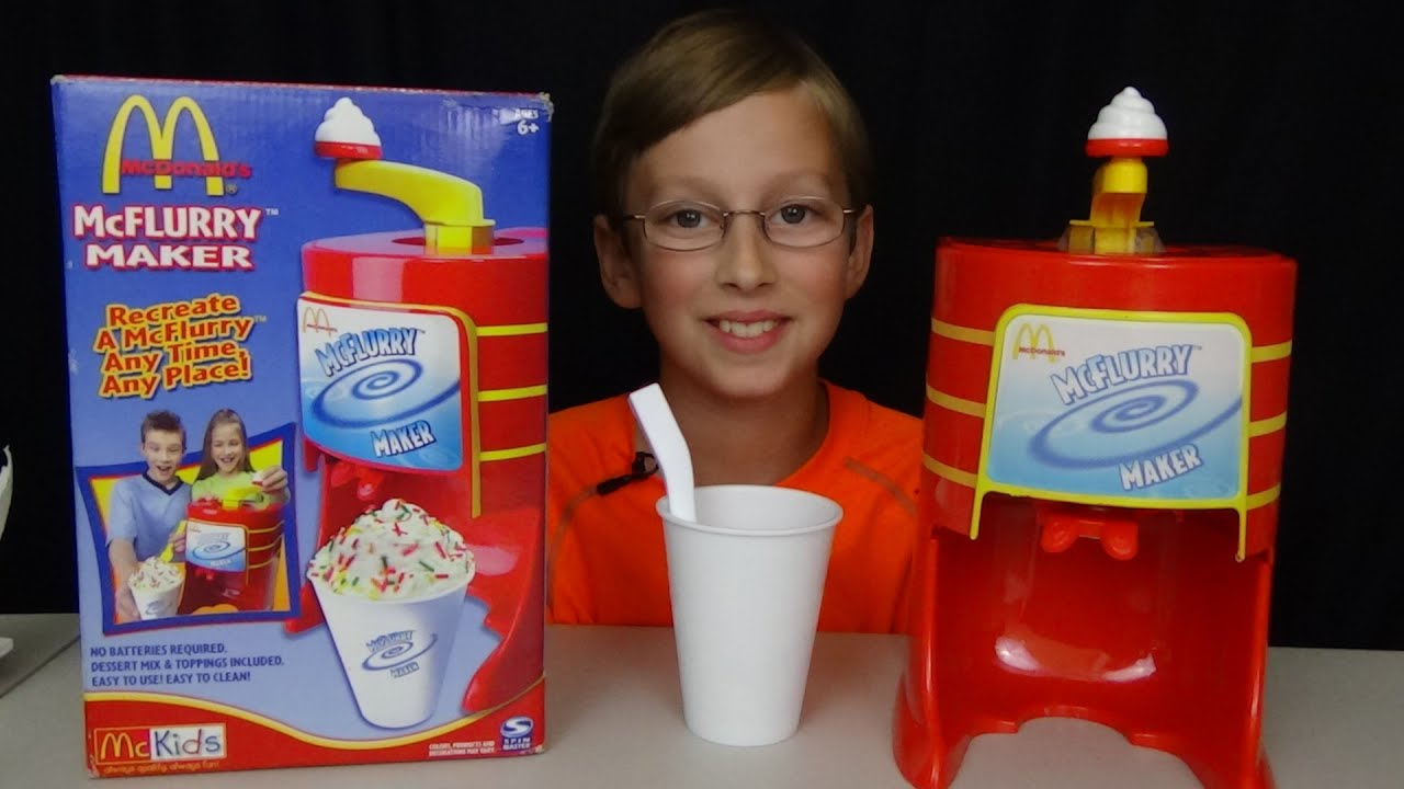 MCDONALD'S MCFLURRY MAKER MACHINE | COLLINTV