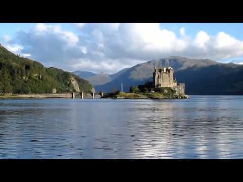 Clan Macrae Castle Scottish Loch Duich Highlands Of Scotland