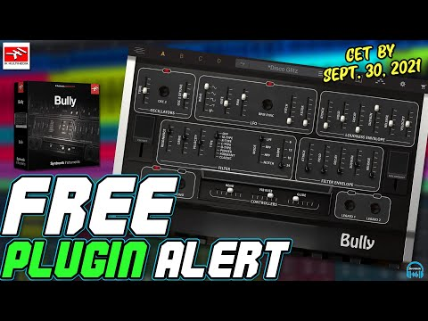 FREE PLUGIN ALERT - IK Multimedia Syntronik BULLY Synth (Limited Time!)