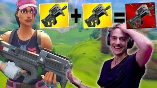 DOUBLE P90 COMPACT SMG NEW META!!| Fortnite Highlights & Funny Moments #77