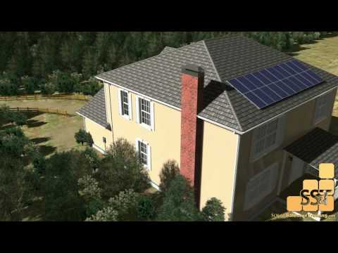 How Residential Solar Works - Central Inverter System