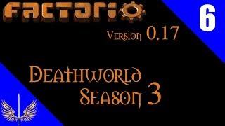 Factorio death world extreme season 3 episode 6