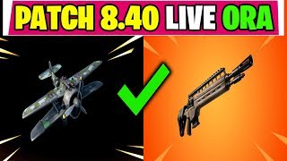 NOUVEAU PATCH UPDATE 8.40 FORTNITE LIVE ITA FUCILE DE FANTERIA