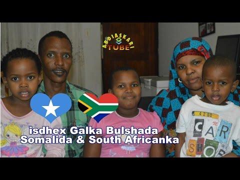 Nin Somali ah oo Gabar Zulu South African ah Guursade | Wareysi Qoyska Maxamed