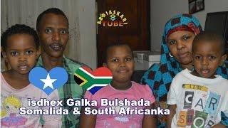 nin somali ah oo gabar zulu south african ah guursade   wareysi qoyska maxamed