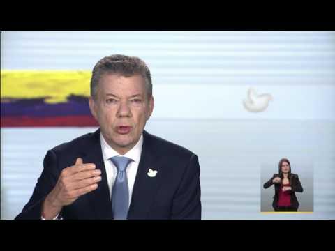 Alocución del Presidente de la República, Juan Manuel Santos Calderón - 30 de marzo de 2017