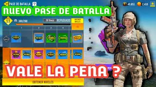 VALE LA PENA ? NUEVO PASE DE BATALLA CALL OF DUTY MOBILE