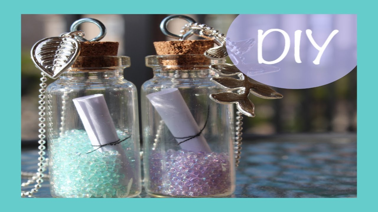 DIY Message in a Bottle Necklace  1d6dba982b03