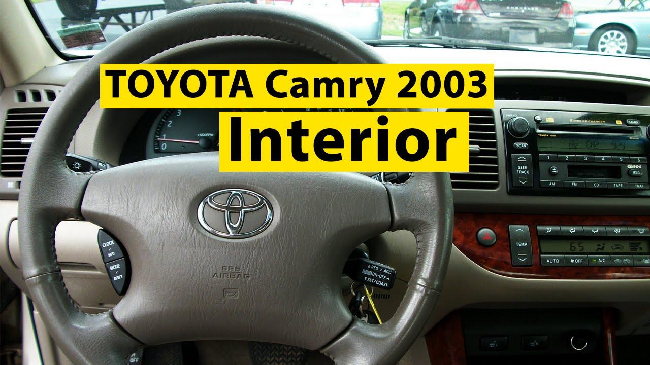 2004 Camry Interior