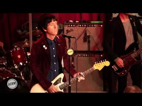 """Johnny Marr performing """"New Town Velocity"""" Live at KCRW's Apogee Sessions"""