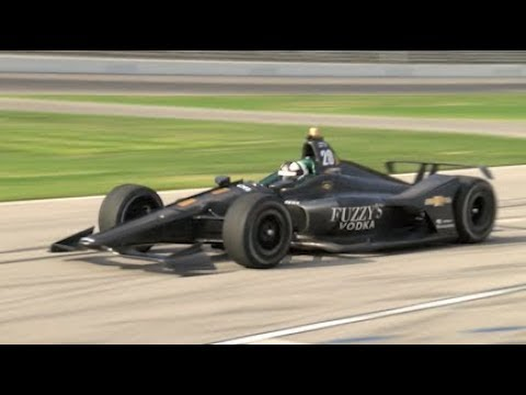 NEWGARDEN, CARPENTER, PIGOT TEST INDYCAR KIT