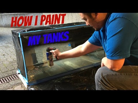 How To: Paint Your Fish Tank
