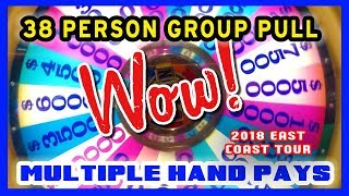 👯38 People➡$7,600 Slot Group Pull ❗ Multiple HANDPAYS in ATLANTIC CITY 🎰🌐EAST COAST TOUR ✦ BCSlots