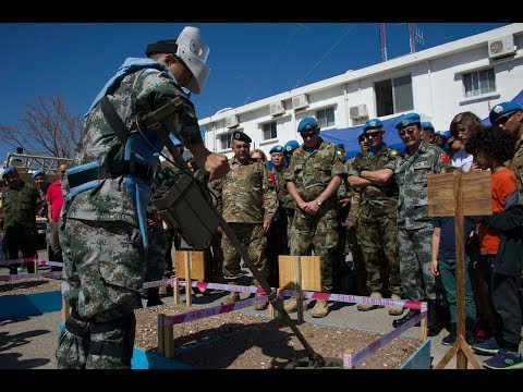 UNIFIL and UNMAS hail partnership in de-mining in south Lebanon