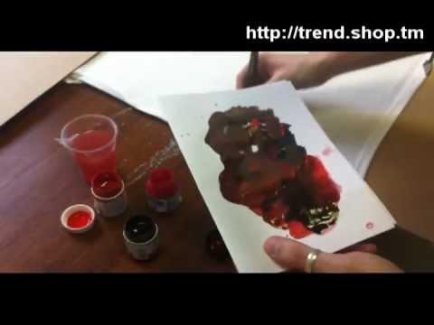 Как нарисовать кровь своими руками