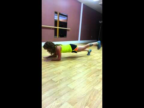 Abdominal work and more from Pure symmetry fitness