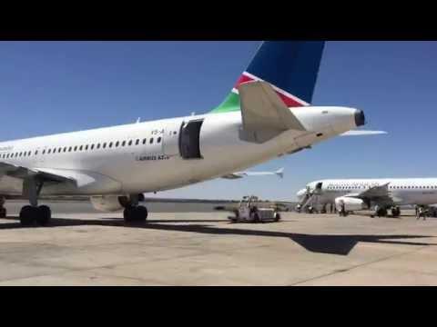Airport Lounge: Hosea Kutako, Namibia