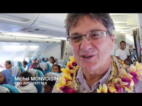 Le voyage du coeur avec Air Tahiti Nui
