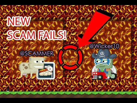 Growtopia - NEW HARVEST FESTIVAL SCAM FAILS! TOP 3 SCAM FAILS! 2017!