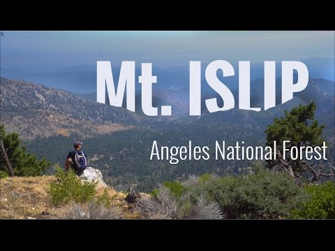 Angeles National Forest in 4K | SoCal and LA Hiking Mt. Islip