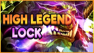 GALAKROND Warlock in High Legend, super CONSISTENTE!   Hearthstone Ita