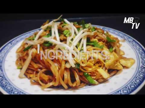 pâtes-de-riz-sautées-à-la-sauce-soja