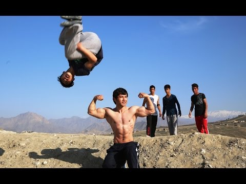 Rising from the rubble: Parkour boys hope for peace in Kabul