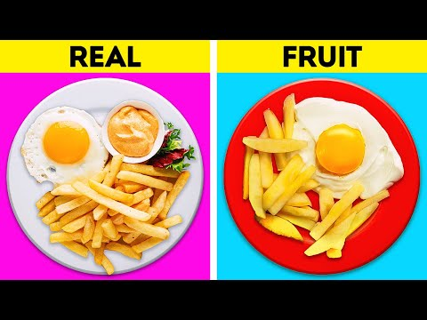 Yummy Recipes With Fruits That Look Like Fast Food || Healthy Dessert Recipes That Will Amaze You!