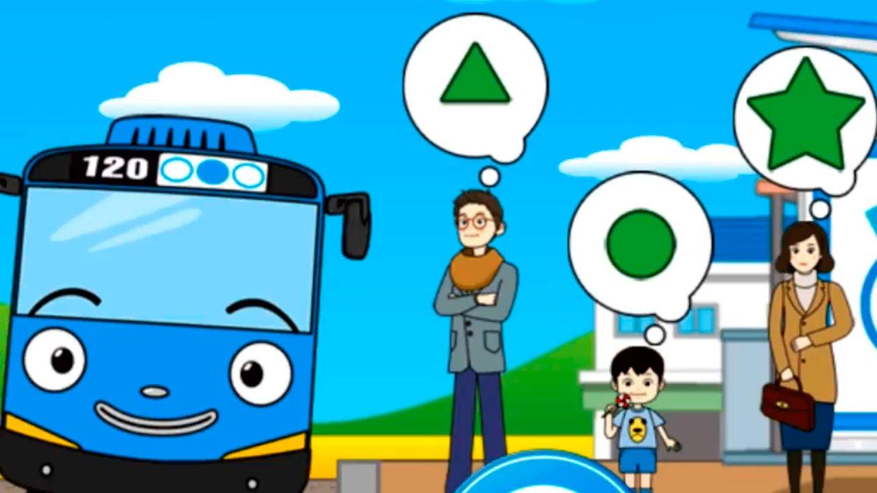 Обзор приложения Тайо маленький автобус. Развивающий ...