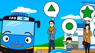 Обзор приложения Тайо маленький автобус. Развивающий мультфильм