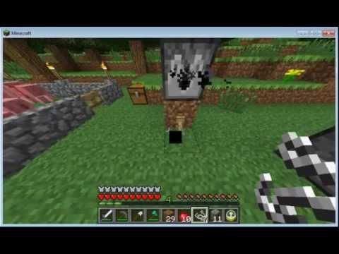 Como Hacer Los Ganchos De Cuerda En Minecraftwmv