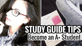 10 study guide tips of straight a students study with me