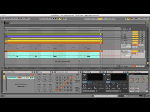 Ben Mono Interview and Ableton Live Tutorial - Excerpt from In The Loop Ep 1