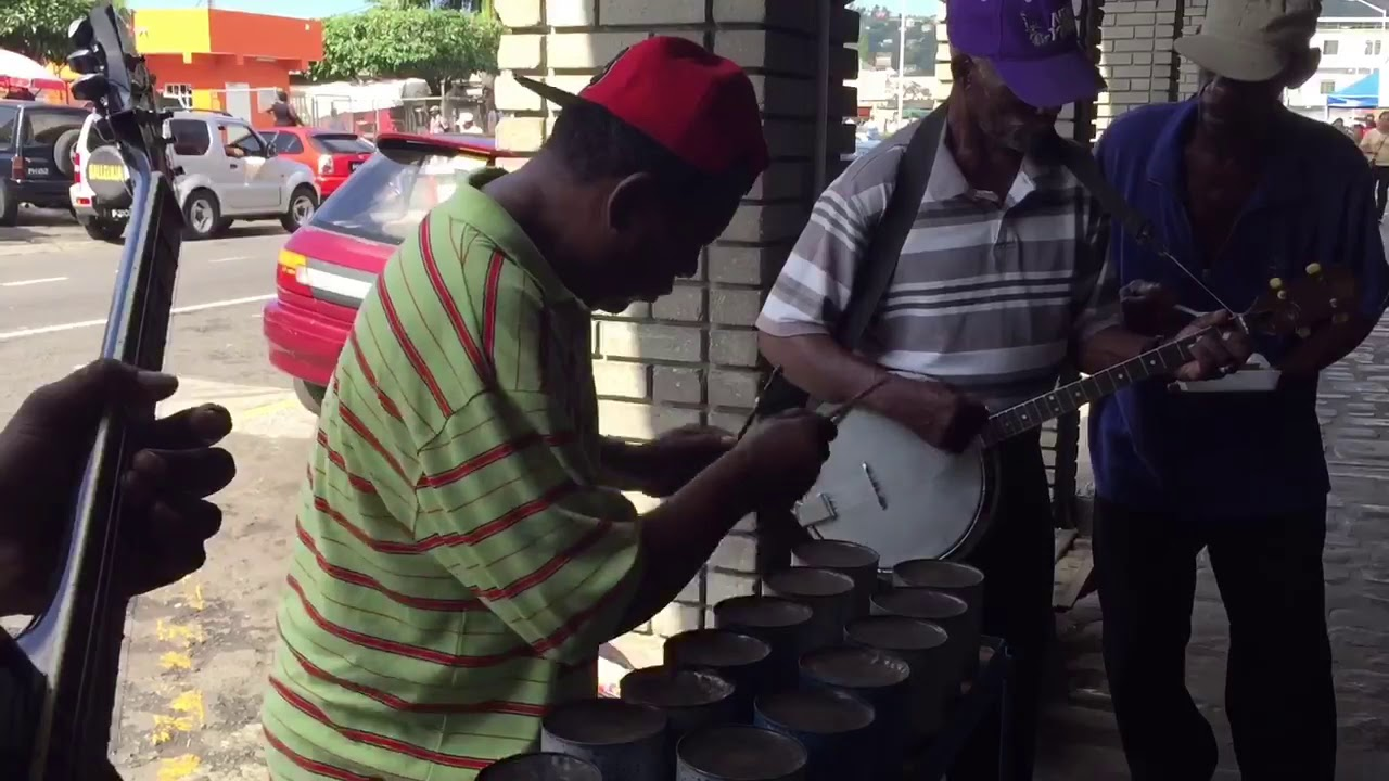 A popular Christmas song in St Vincent, performed in a highly unusual way