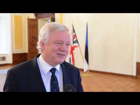 UK's Secretary of State for Exiting the European Union David Davis