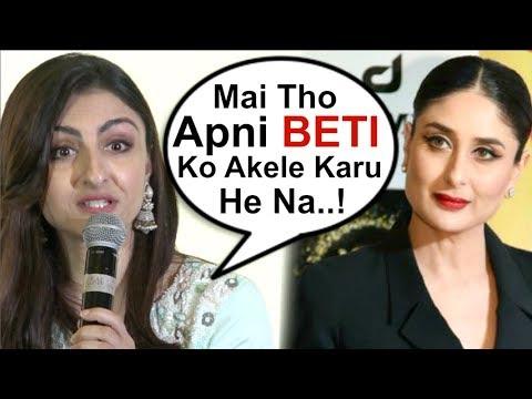 Soha Ali Khan Takes A DIG At Kareena Kapoor While Talking About Motherhood  Video