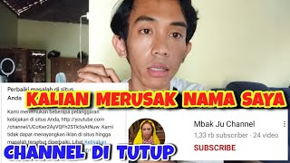 Mbak Ju Channel ditutup YOUTUBE | BIKIN ONAR
