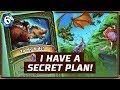 I Have A Secret Plan! | Spell Hunter | The Boomsday Project | Hearthstone