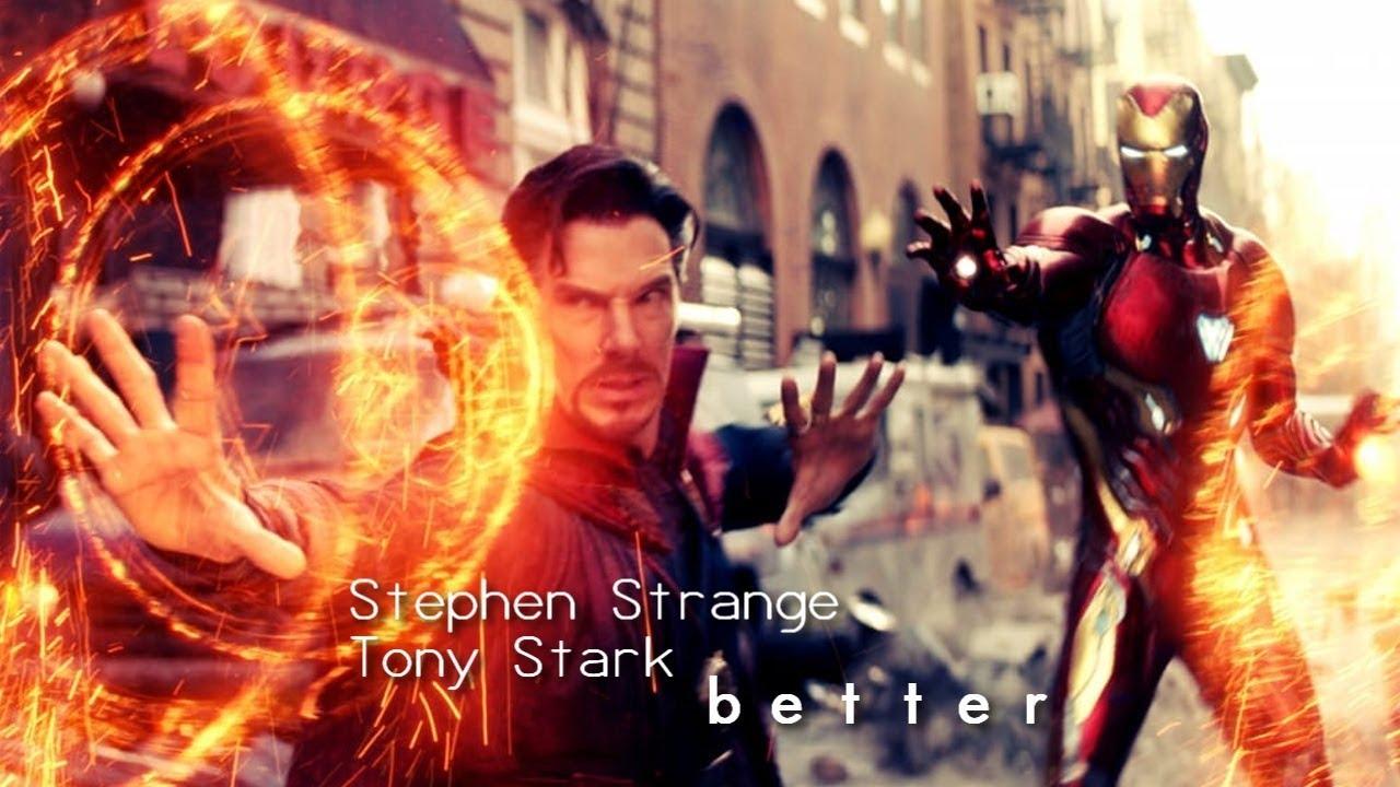 Stephen Strange Tony Stark Better Ironstrange Youtube Do you like this video? stephen strange tony stark better ironstrange