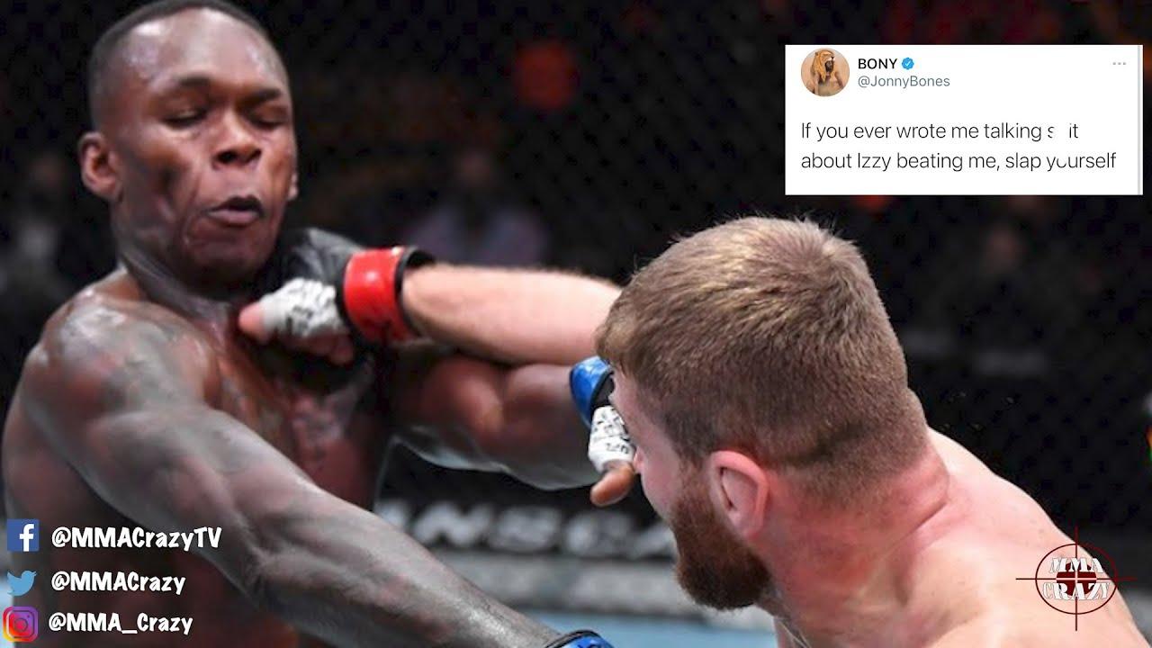 MMA Pros React to Jan Blachowicz win over Israel Adesanya at UFC 259