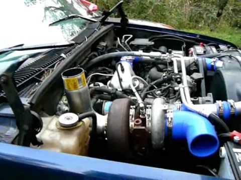 Holset HE351VE VGT turbo on a 6.5 Diesel - YouTube