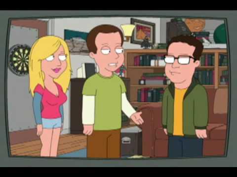 Big Bang Theory scene in FamilyGuy - magyar felirattal