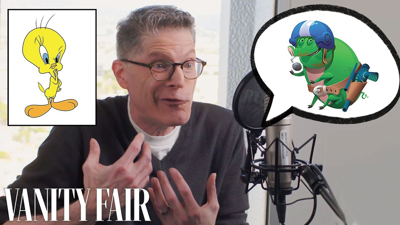 Looney Tunes Voice Actor Improvises 12 New Cartoon Voices